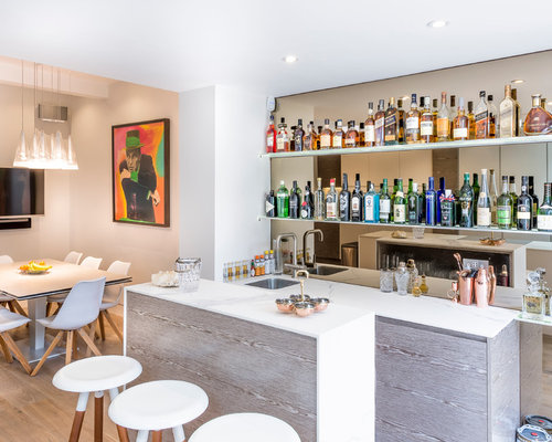 Contemporary and Modern Home Bar Design Ideas, Pictures & Inspiration