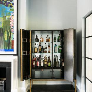 Bar De Salon Avec Un Chariot Mini Bar Royaume Uni Photos