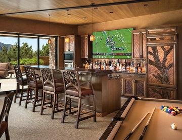 Hilltop Residence - Home Bar