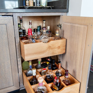 HIstoric Campbell Building - Industrial  Home Bar