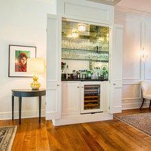 Schlosser House appliances, cabinets, wetbar