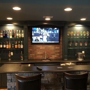 Home Bar Media Room