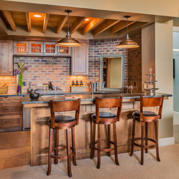 Home Bar-stylish home bar in your home
