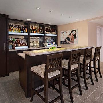 Home Basement Bar