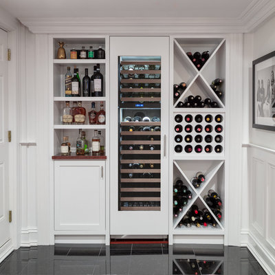 Farmhouse Home Bar by kelly mcguill home