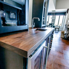 Modern Kitchen Countertops by Wood Anchor
