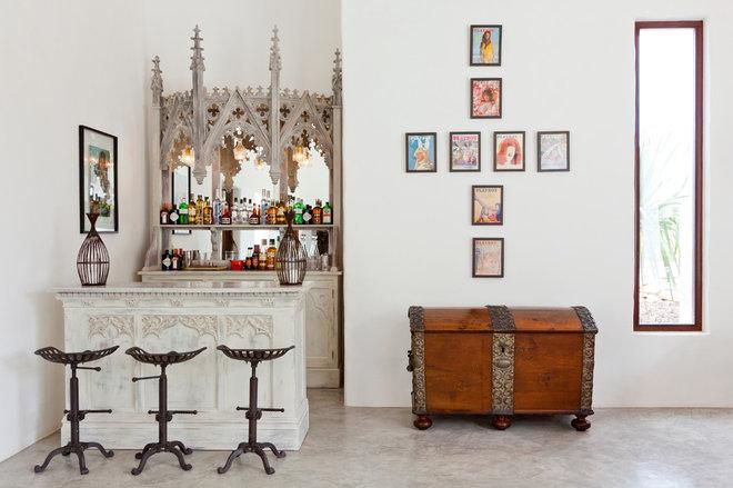 Фьюжн Домашний бар by Godrich Interiors