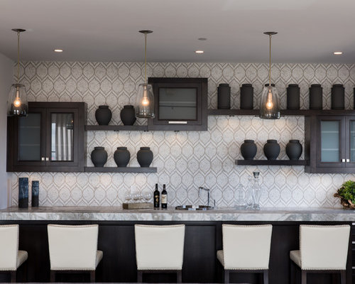 Best 100 Modern Home Bar Ideas | Houzz