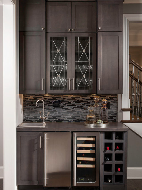 Wet bar cabinets design ideas remodel pictures houzz - Wet bar cabinets ...