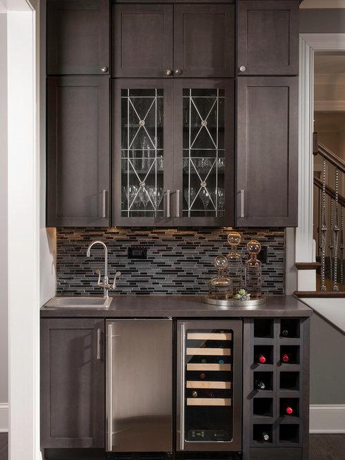wet bar wine refrigerator home design ideas pictures remodel and decor. Black Bedroom Furniture Sets. Home Design Ideas