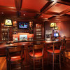 Home Bars Tap Into Guy-Friendly Style