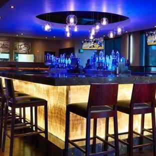 Esempio di un angolo bar classico
