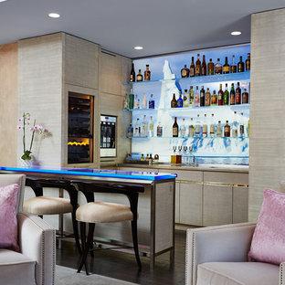 Kenwood MN Family Room Bar