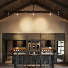 contemporary wine cellar by Schmitt + Company