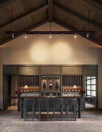 Contemporary Home Bar by E C Schmitt & Company