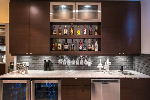 What are the dimensions of this wet bar area?