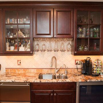 Kitchen Addition Built To Entertain