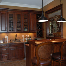 Traditional Home Bar by Cabinet Style