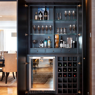 Attractive 75 Most Popular Contemporary Home Bar Design Ideas For 2018   Stylish  Contemporary Home Bar Remodeling Pictures | Houzz