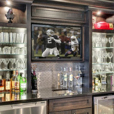 Home Bar by Lecy Bros Homes & Remodeling