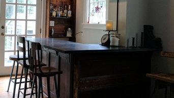 Lewis Home Bar & Living room