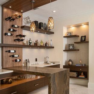 Example of a home bar design
