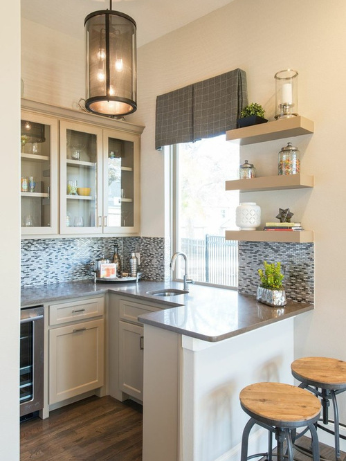 Small Kitchen Peninsula Houzz