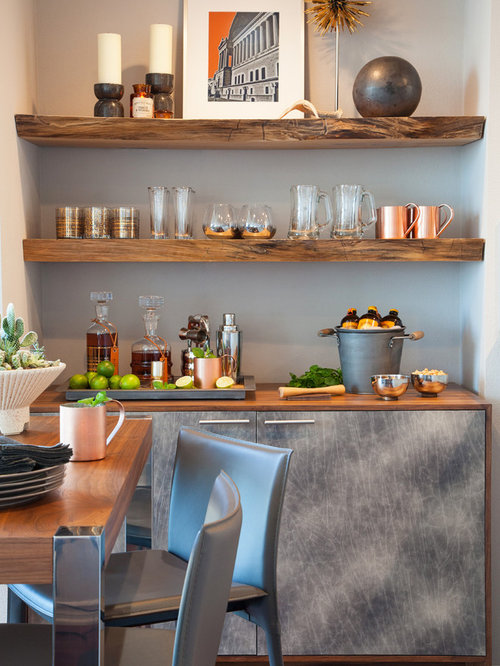 Reclaimed Wood Shelving Home Design Ideas Pictures