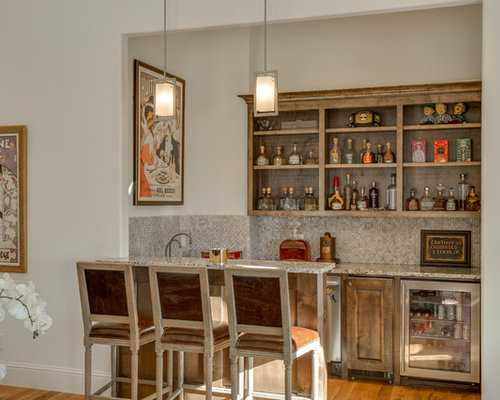 home bar room designs. Transitional galley seated home bar photo in Little Rock with raised panel  cabinets beige 30 All Time Favorite Home Bar Ideas Designs Houzz