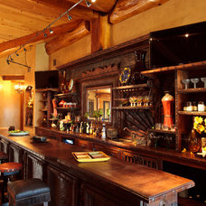 Traditional Home Bar by Passion Lighting