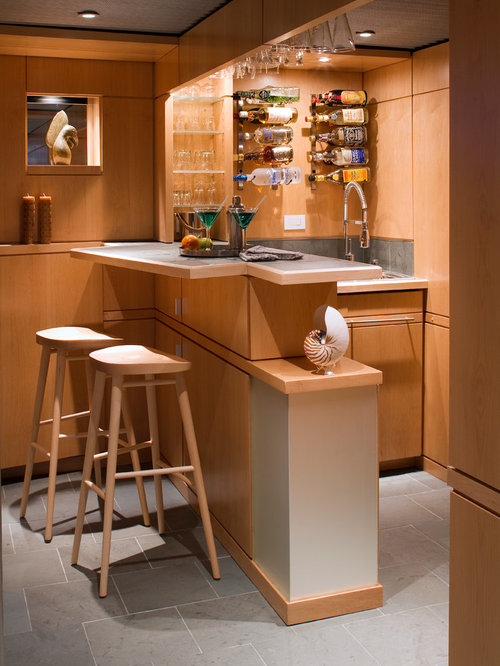 Mini bar home design ideas pictures remodel and decor - Designing a basement bar ...