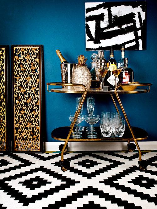 bar de salon contemporain photos et id es d co de bars de salon. Black Bedroom Furniture Sets. Home Design Ideas