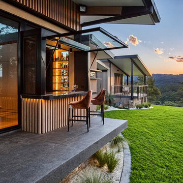 Luxe Lodge: architectural interior design project photography