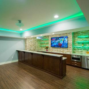 Luxury Basement Remodel in Warren, NJ