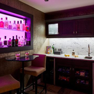 Luxury Cinema Room & Home Bar