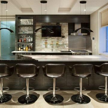 Mancave-Entertainment Lounge-Bar-Games Room-Kitchen