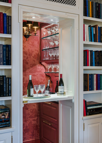 Victorian Home Bar by Eberlein Design Consultants Ltd.