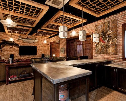 Home Bar Design Ideas, Renovations u0026 Photos with Vinyl ...
