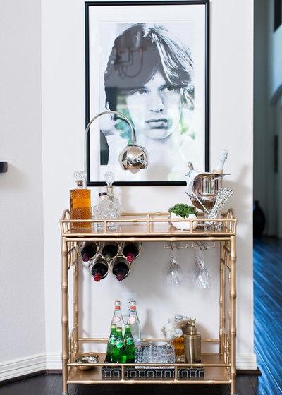 Classique Chic Bar de Salon by LMC Interiors