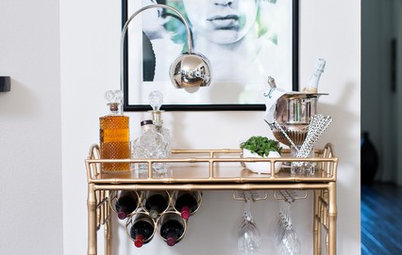 Think You Haven't Got Space For a...  Home Bar?