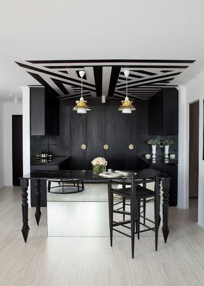 Contemporáneo Bar en casa by James Dawson Interior Design