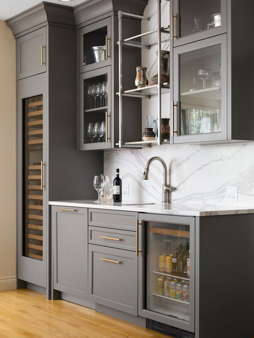 11 Best Home Bar with Gray Cabinets Ideas & Photos | Houzz