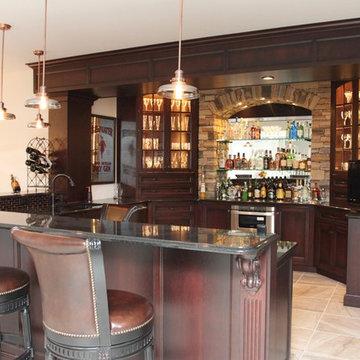 Basement Custom Bar