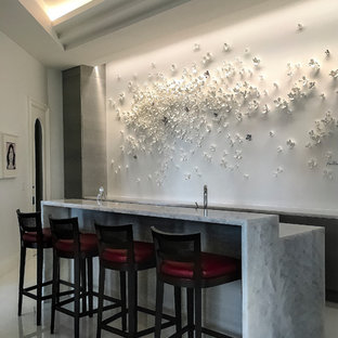 miami modern home bar