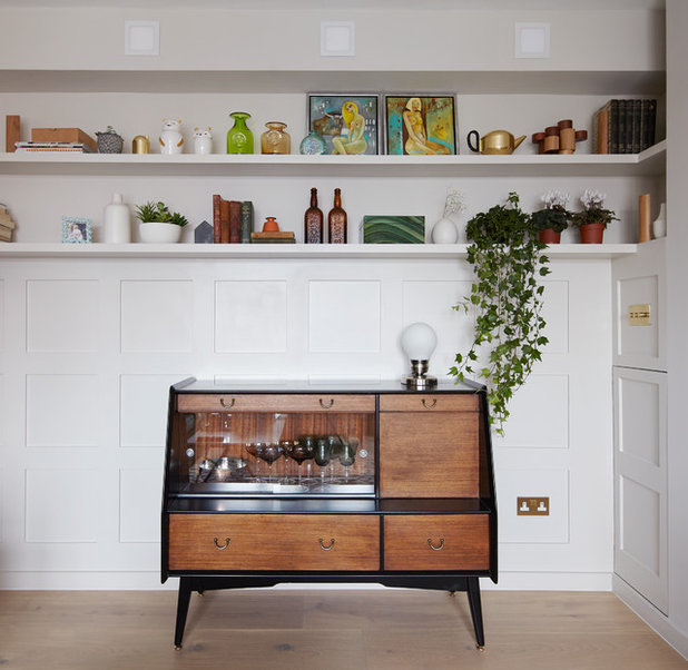 Home Bar Design Ideas Houzz: Houzz Tour: A One-bed London Flat Gets A Stylish New Look