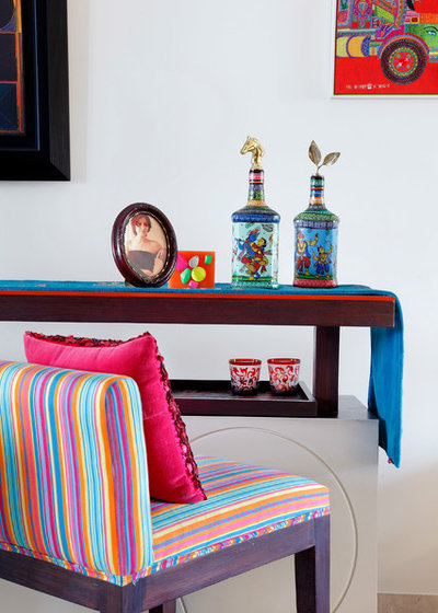 Eclectic Home Bar by Mrigank Sharma Photography