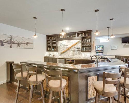 Modern Bar Design Alexandria VA By Reico Kitchen Bath