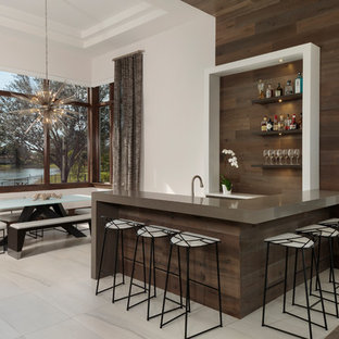 75 Beautiful Modern Home Bar Pictures Ideas August 2020 Houzz