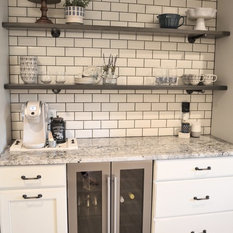 48 Farmhouse Wet Bar With Granite Countertops Ideas