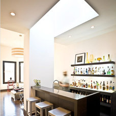 Contemporary Home Bar by Dwell Candy
